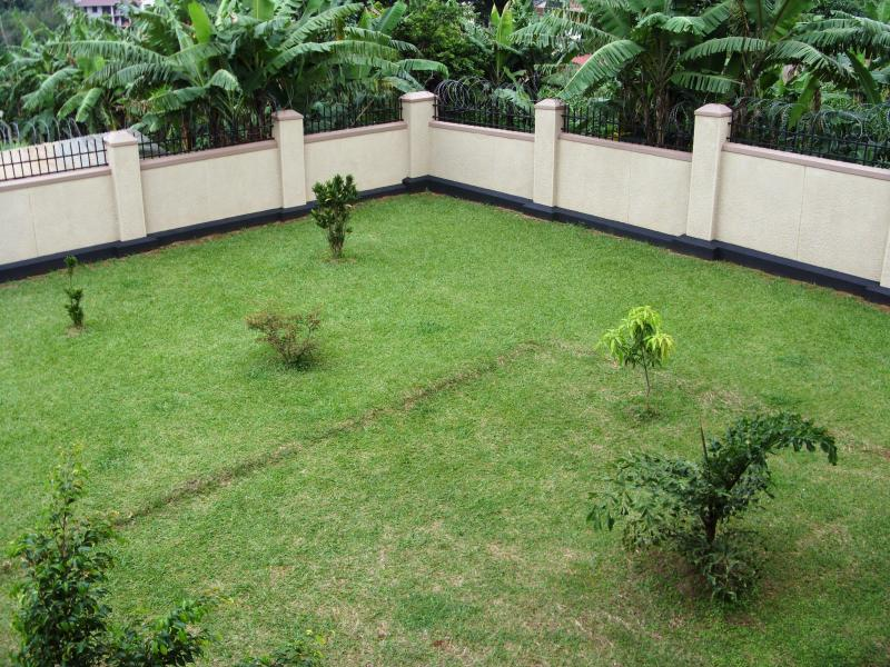 Balcony view of compound