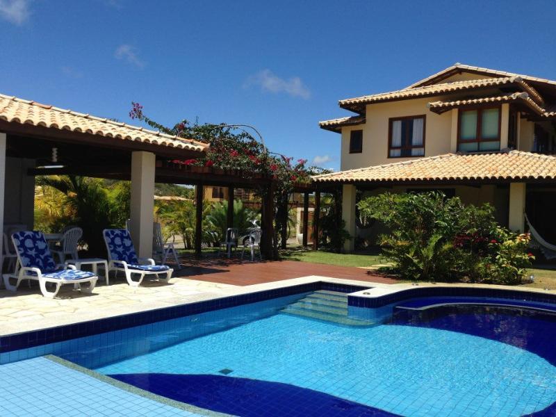 Flora de Sauipe - side view of view of villa across pool