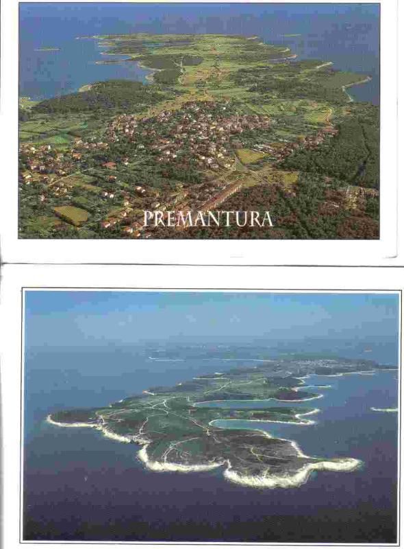 Air view of Premantura & cap Kamenjak