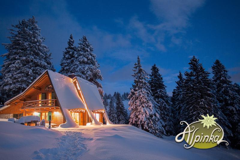 Chalet Alpinka in Winter