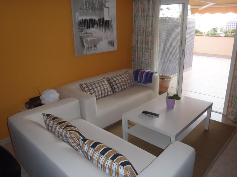 Living room with access to the terrace