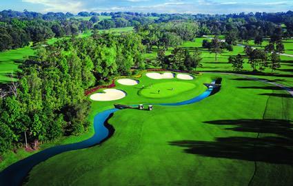 One of Ocalas world class golf courses