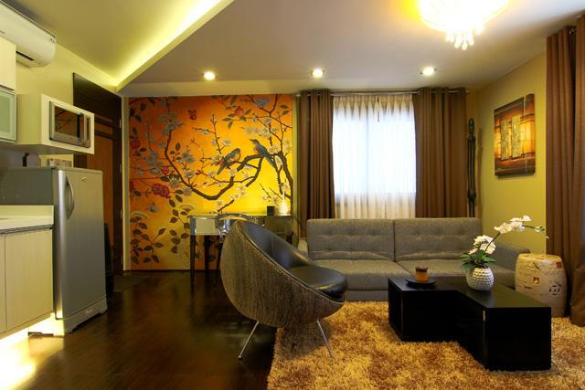 Angol Suite Living Area