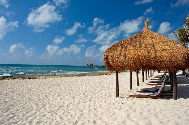 Beach at Riviera Maya
