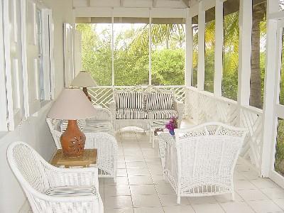 Screened verandah