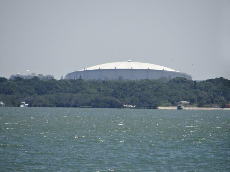 Tropicana Center View from Bay  event center ,baseball  TB Rays etc