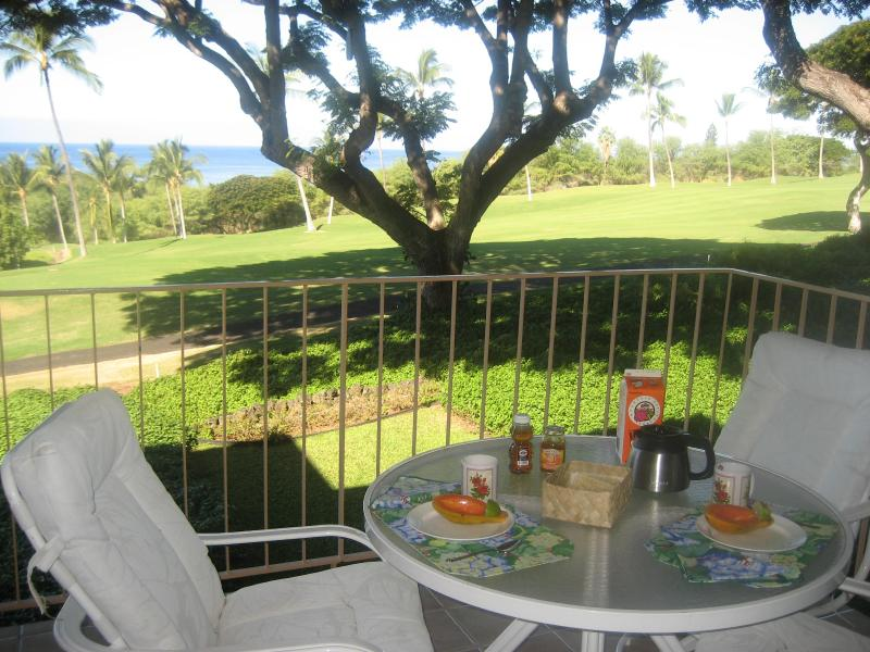 Breakfast for 2 on the lanai