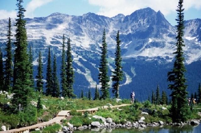 Halking the mountains