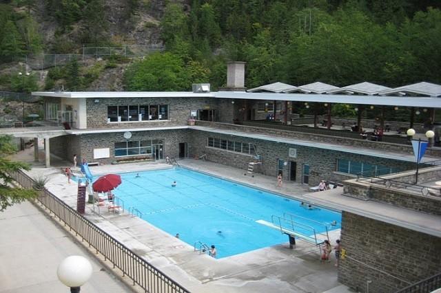 Swimming pool at Hot Springs