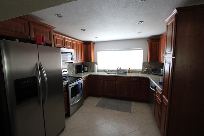 Renovierter Küche mit modernen Geräten