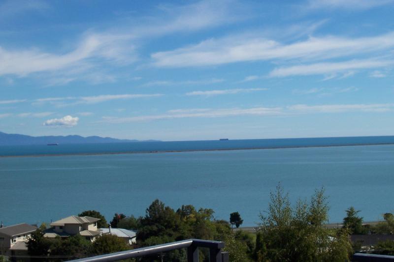 View of Tasman bay looking across to the Abel Tasman National park