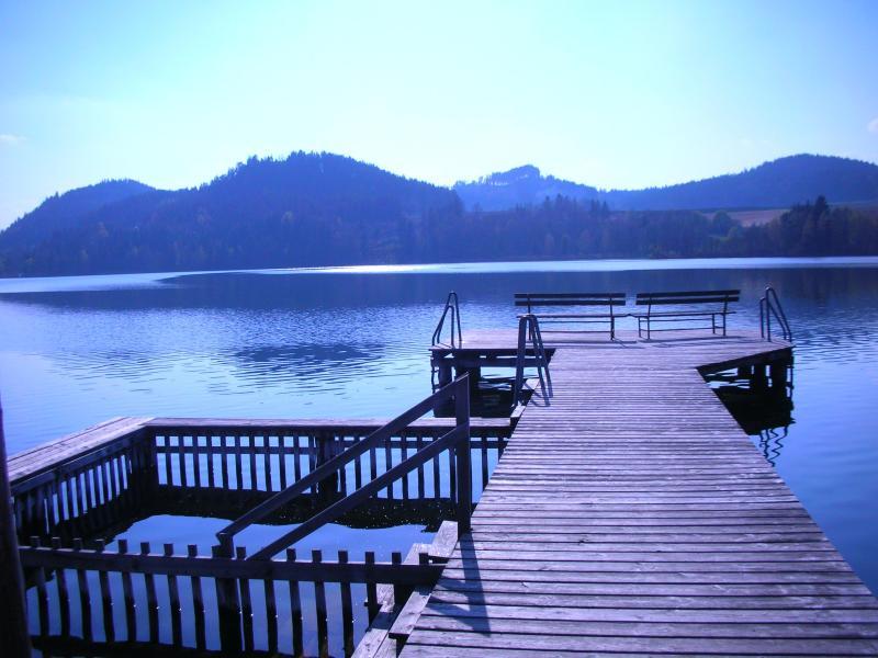 Village swimming area