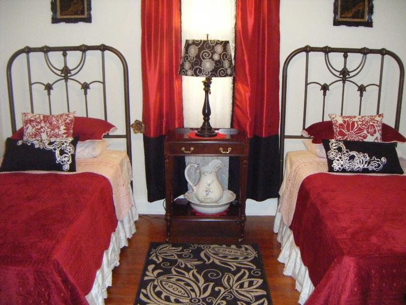 Camera da letto scarlatto