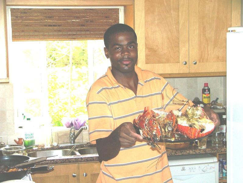 Curran, the chef who will come to the villa