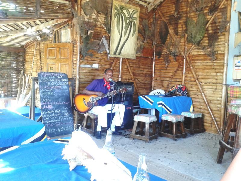 Majorie's beach bar. 10 Minutes walk from the villa