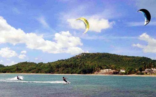 Windkiting and wind surfing. 10 minutes walk from the villa. Tuition and all equipment available