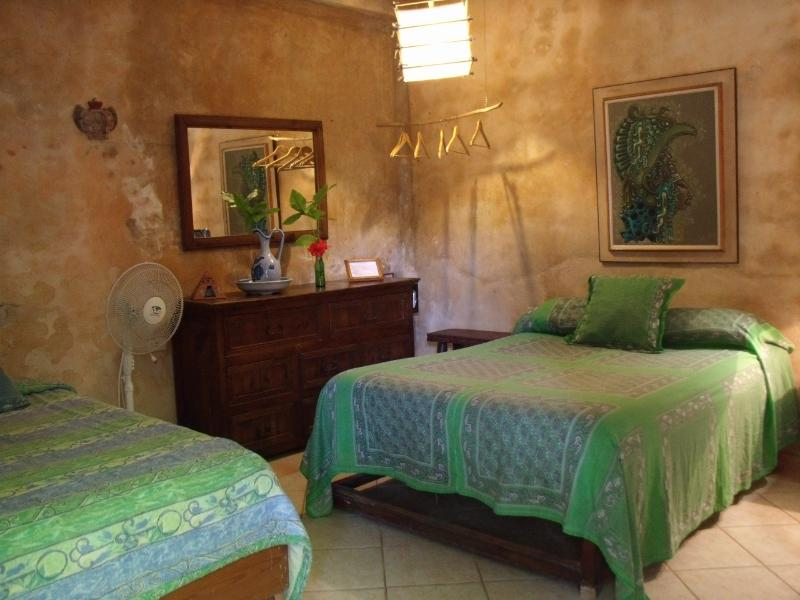 Room #3 at Casitas Kinsol - 1 double bed and 1 single bed