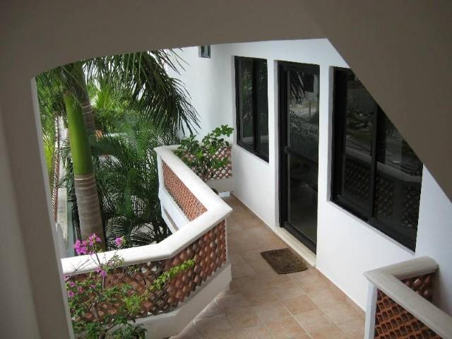 Second Floor Patio and Entranceway