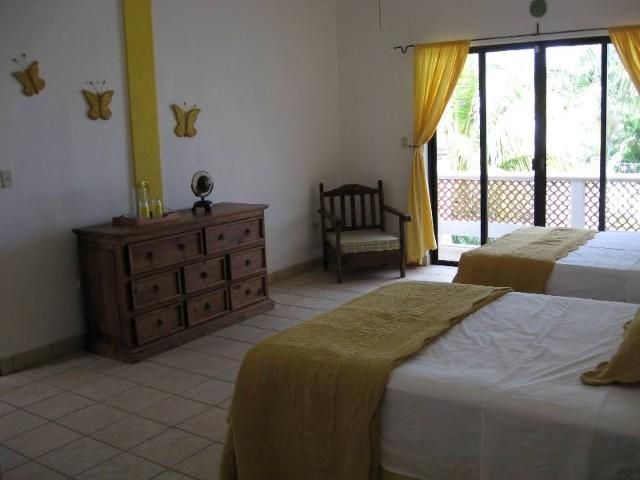 Second Floor Yellow Room View 3; Doors to Terrace