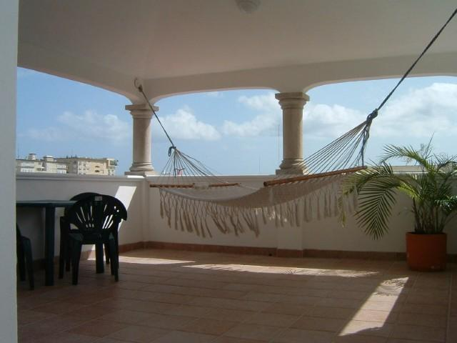 Fourth Floor Lookout with Hammocks