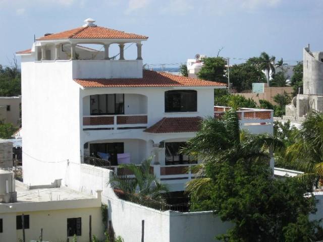 Rear View of Villa Miranda