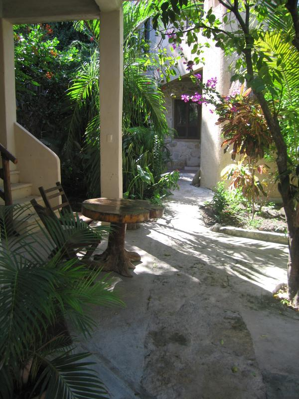 Path to Main House from Cottage