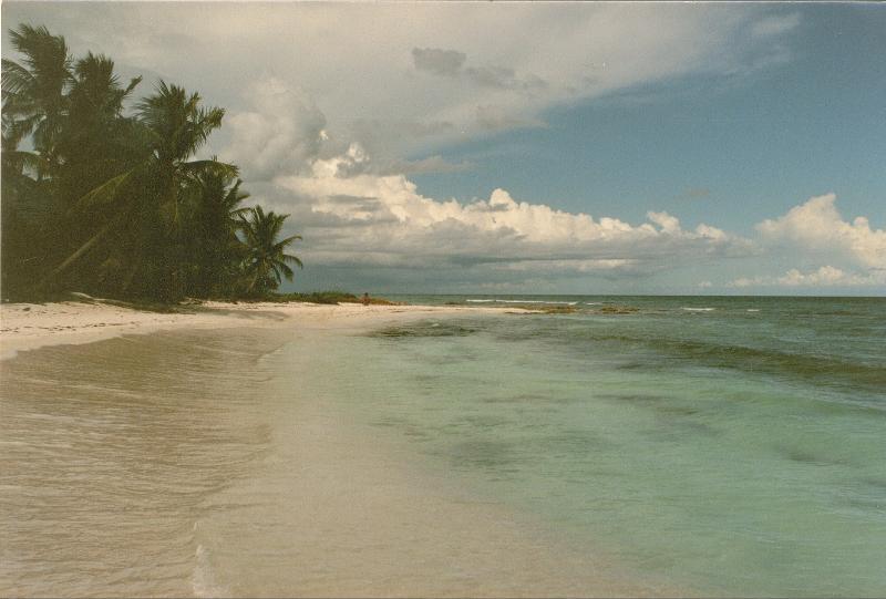 Ma plage préférée de Tulum