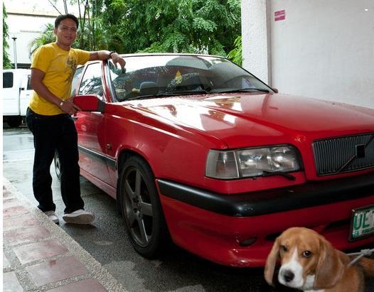 auto en bestuurder (cesar)