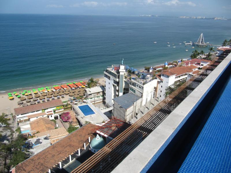 View of Beach from Rooftop