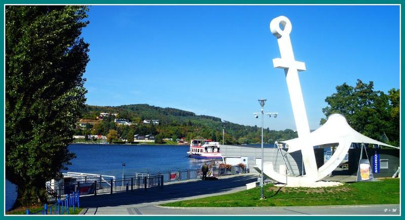 Brno dam - main port