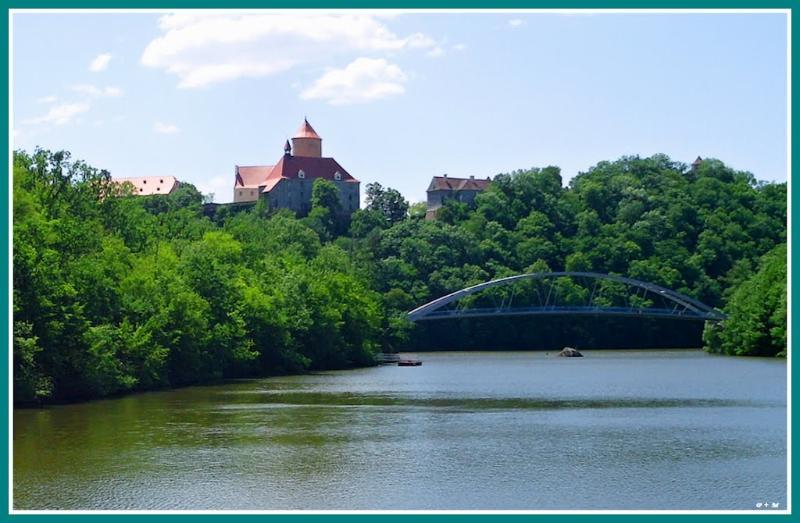 Brno dam - Veveri castle