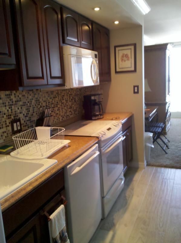 GE profile kitchen with Diamond Halston cabinets