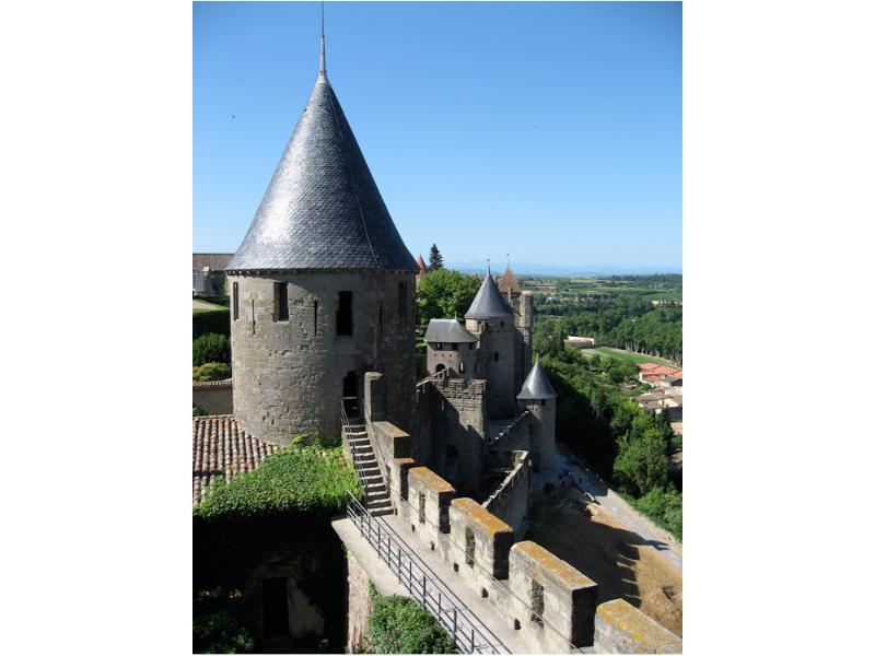 La citie fort in Carcassonne.