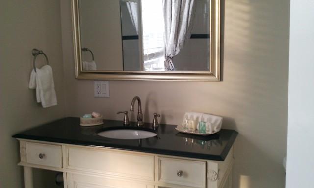 Nieuwe marmer en badkamer tegel