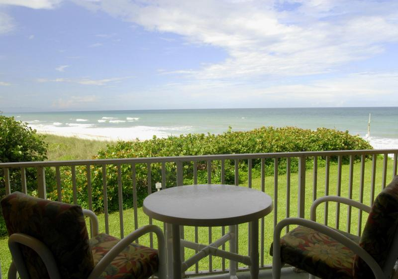 Oceanfront view from Patio