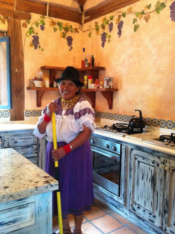 Your kitchen in Casa Monica