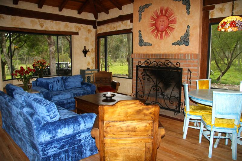 Your living room in Casa Ana...