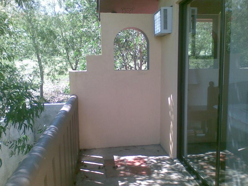 Master balcony facing northwest