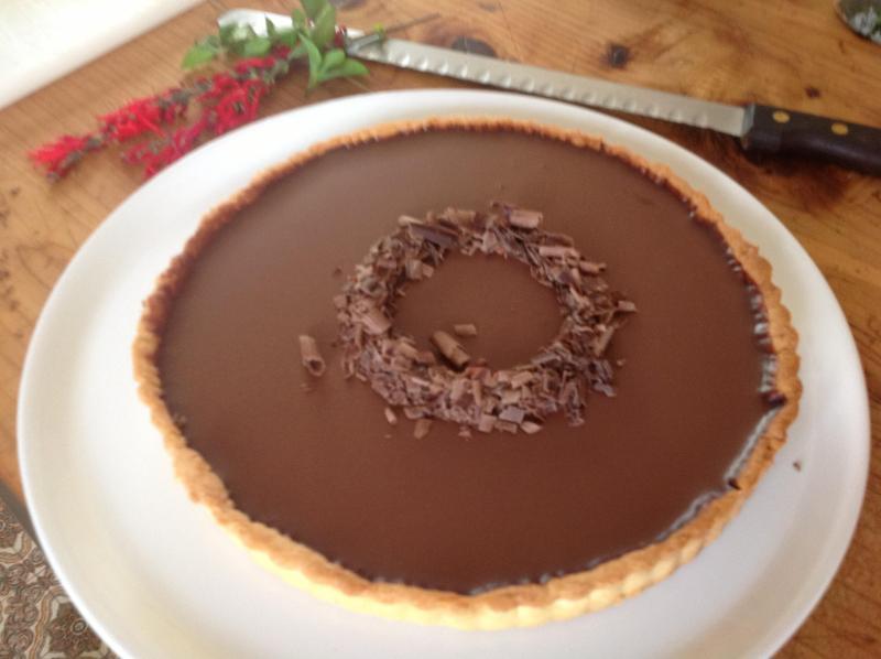 ganache de chocolate hecho en casa