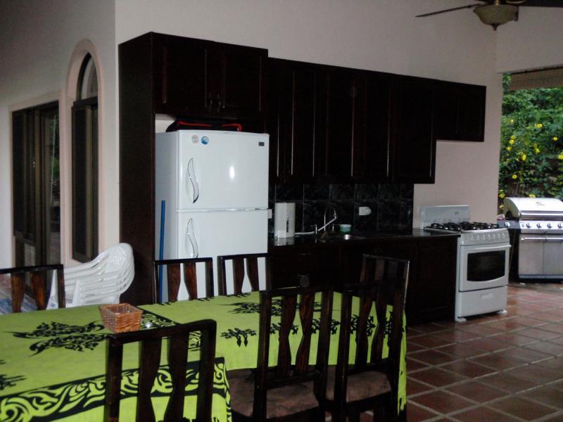 Zona de cocina al aire libre