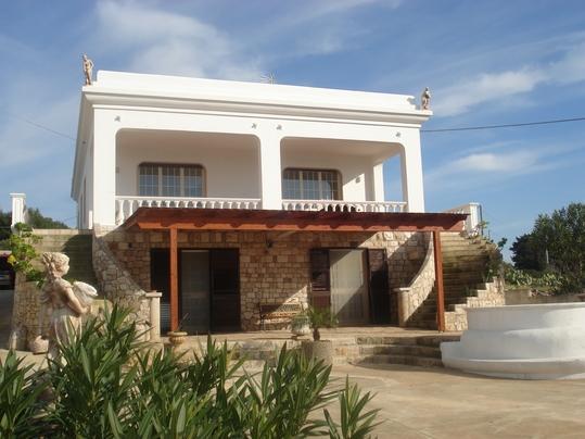 Splendid appart. 250 m sea & panoramic view Smleuca, holiday rental in Castrignano del Capo