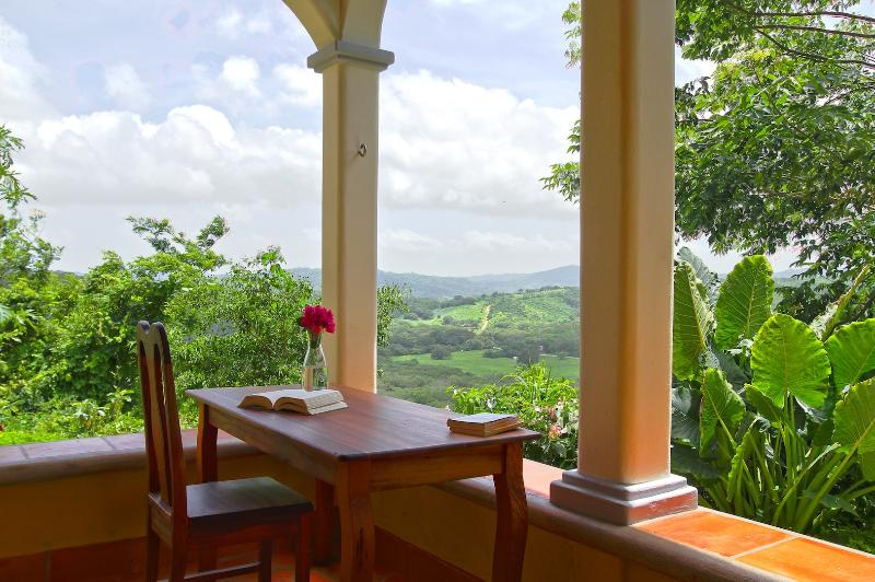 View from one of the bedroom patios
