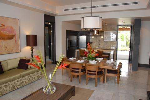 The Luxxe Suite Kitchen and Dining Area (Model)