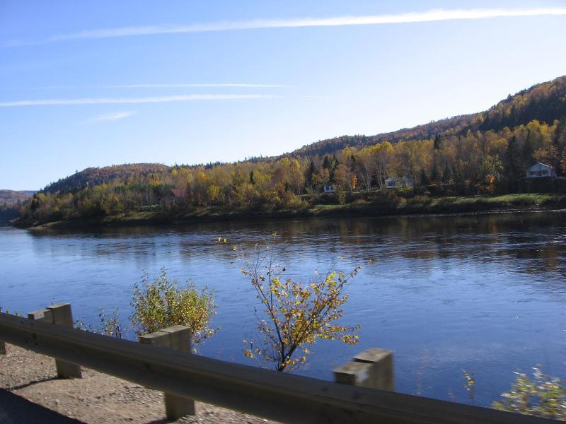Rivière Saint-Maurice en automne
