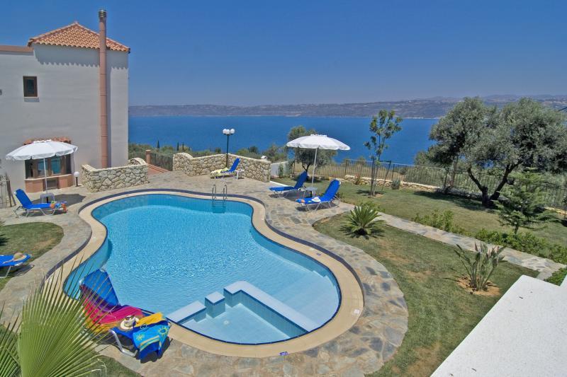 Upper Garden & Pool Area