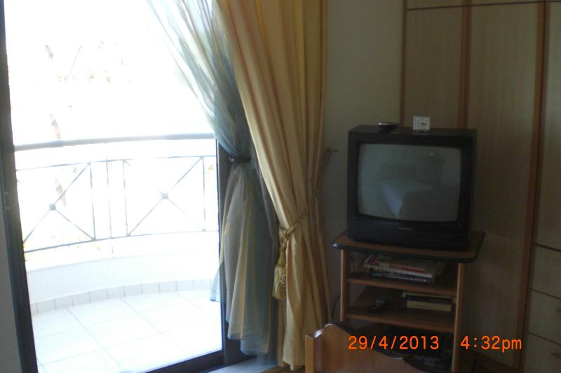Tv on 2d Bedroom