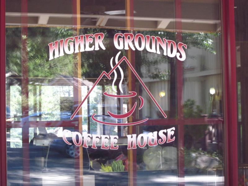 Our local little mountain coffee shop, highly recommended, along with local bakeries