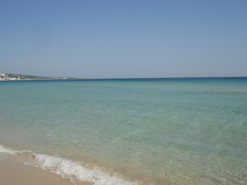 Studio 250 m. beach & sea view Smleuca, holiday rental in Castrignano del Capo