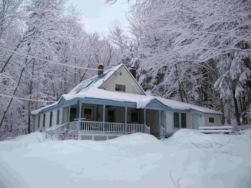 Das Brook House im Winter