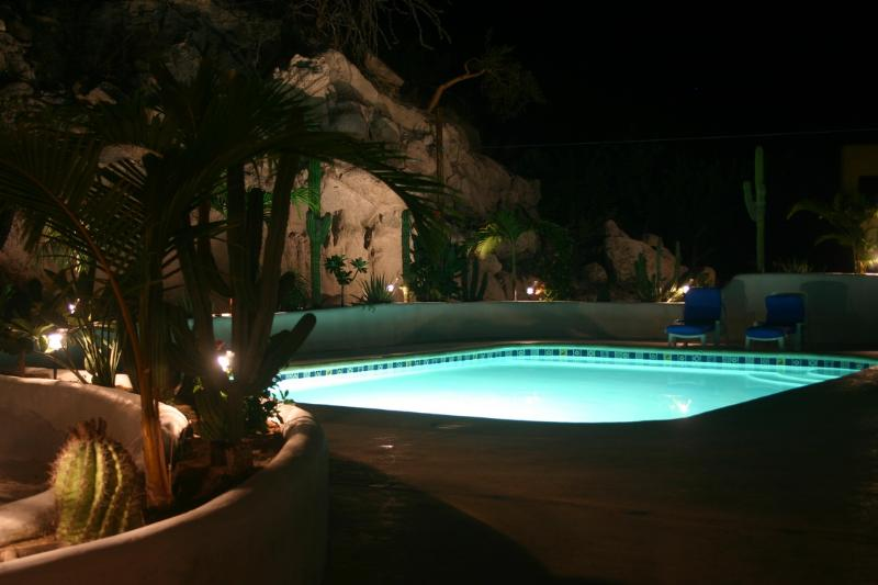 Night Swim at Las BouganVillas